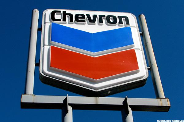 Chevron (CVX) Stock Down as Oil Prices Tumble