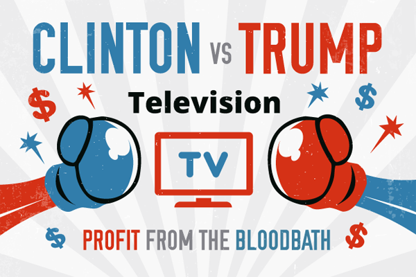 TV Political Ad Spending Will Break Records in 2016, and These Broadcasters Will Cash In
