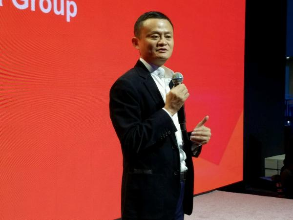 Alibaba's Jack Ma in Detroit. Photo Credit: Brian Sozzi