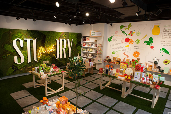 Jet's 'Story' concept grocery store.