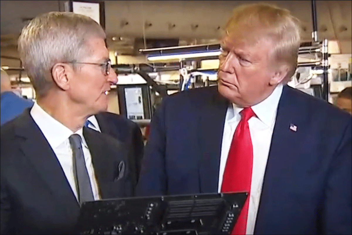 Trump Takes Credit for Opening Apple Factory That Has Been Open for 7 Years
