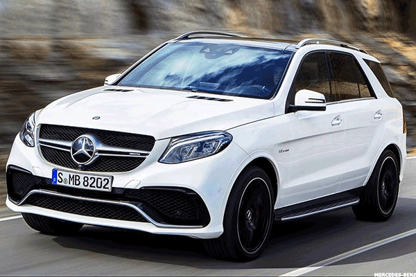 5. 2016 Mercedes-Benz GLE 550e