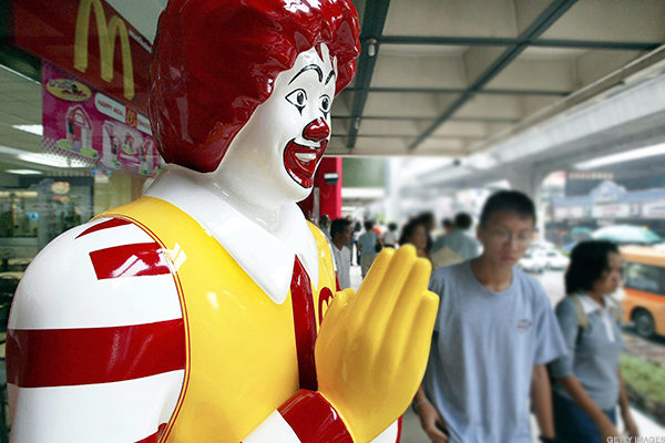 McDonald's hoping for a continued turnaround.