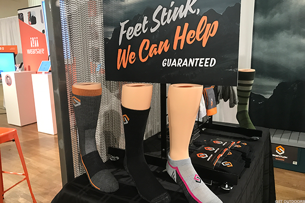 Stink-free socks