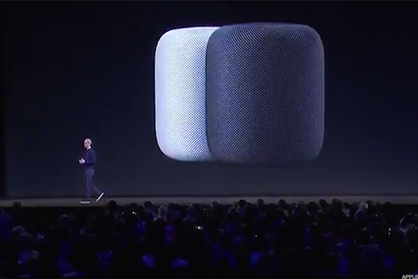 Apple announced an Amazon Echo competitor called the 'HomePod' at WWDC on Monday.