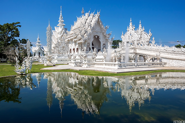 9. The White Temple, Thailand