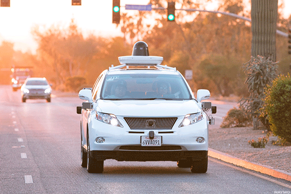Google's New Waymo Unit Steps on the Gas With Honda Partnership