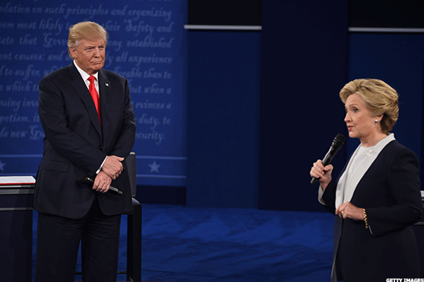 Clinton-Trump Tawdry Tape Debate Draws Smaller Audience Than First Go-Around
