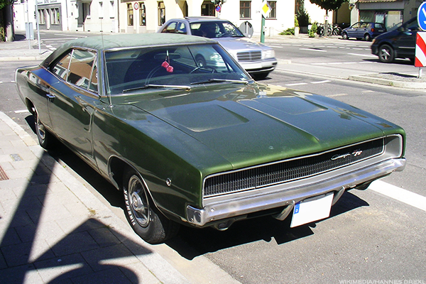 8. 1968 Dodge Charger RT