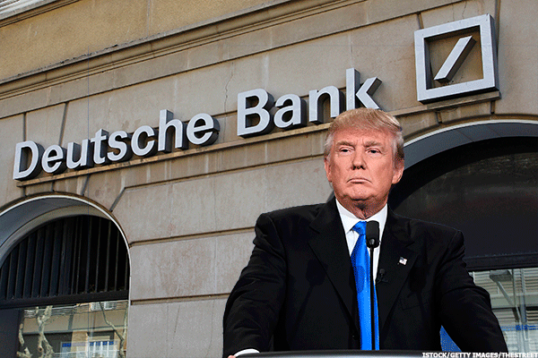 Deutsche Bank Leads European Lenders Higher Amid Questions Over Ties to Trump