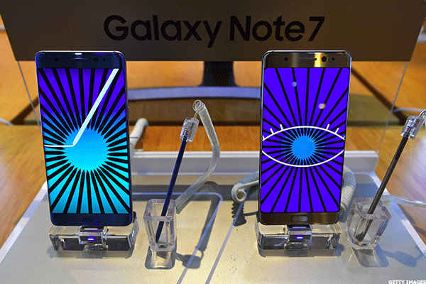 Samsung Withdraws Galaxy Note 7 Smartphone After Fires