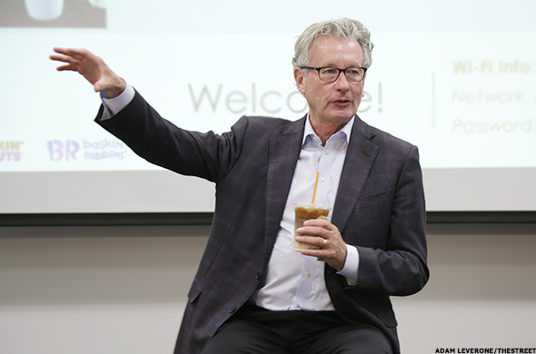 Dunkin' Brands CEO Nigel Travis.
