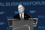 Bloomberg Claps Back at Trump at Inaugural Business Forum
