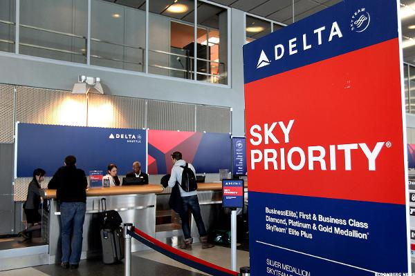 Delta Air (DAL) Stock Slides, Spare Battery Overheats Causing Smoke on Flight