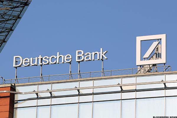 Futures and Asia Are Lower Because of Deutsche Bank