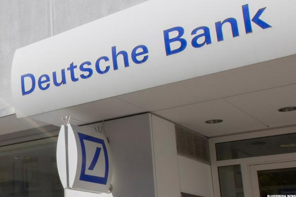 Deutsche Bank: Caution, Falling 'Rock'