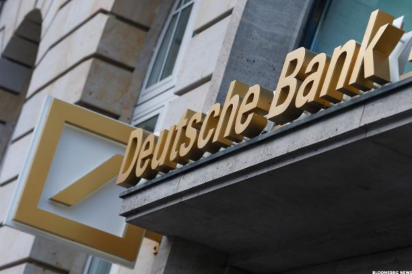Deutsche Bank Dampener Shouldn't Last