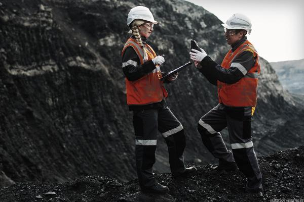 Coal Stocks Jump as Mining up 6% This Year