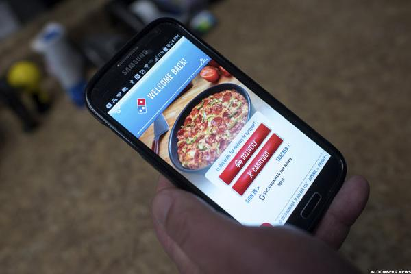 Domino's Pizza (DPZ) CEO Doyle Tells CNBC: Sales and Growth Driven By Technology