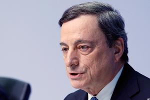 ECB President Mario Draghi Discusses Banking Sector Confidence