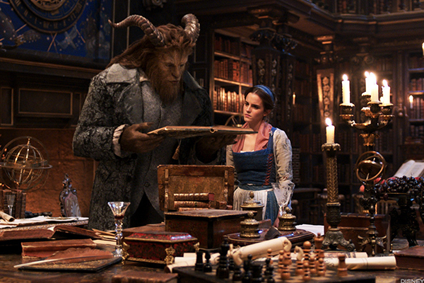Disney's 'Beauty and the Beast' is 2017's top film thus far.