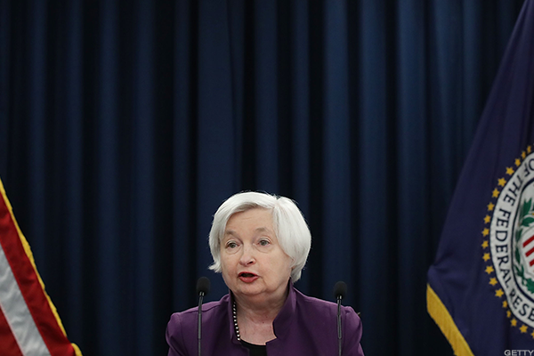 The Federal Reserve still in focus.