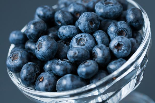 17. Domestic Blueberries