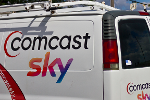 Comcast Stock Slides After $40 Billion Bid for Sky as Fox Stays Mum on Stake