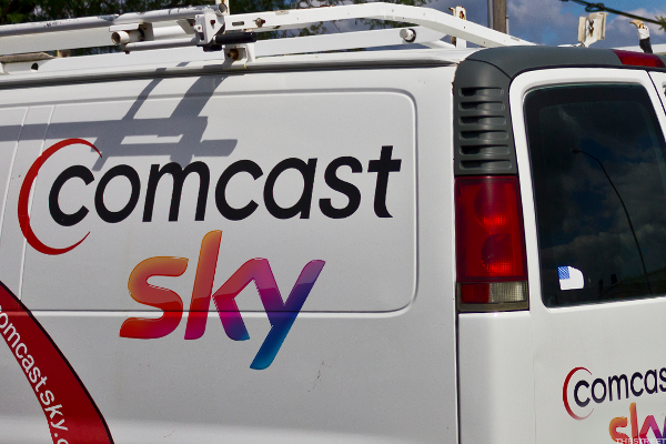 Sky Surges After Improved Comcast Approach as Bidding War With Fox Intensifies