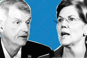 Sens. Warren, Brown: Boot Wells Fargo CEO