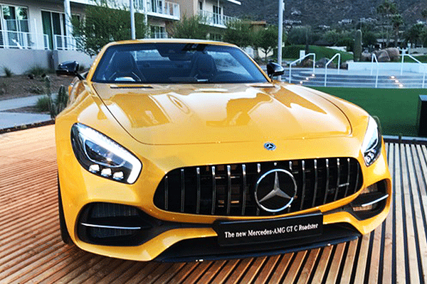 Mercedes' AMG GTC Roadster Epitomizes Its CEO's Challenge to BMW