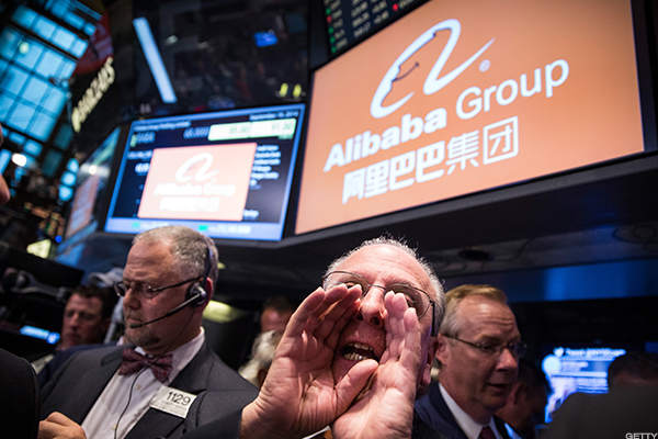Alibaba, Qorvo, Abbott Laboratories, Square: 'Mad Money' Lightning Round