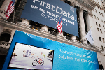 First Data Calls Profit Fivefold on Earnings