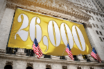 Dow Soars 322 Points to New Record, Exploding Past 26,000