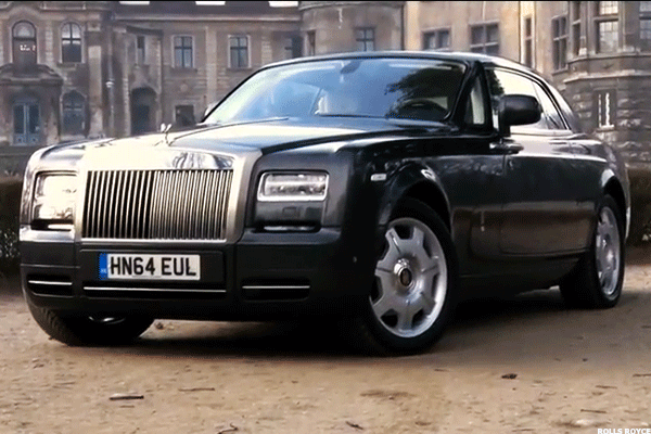3. Rolls Royce Phantom Coupe