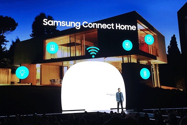 The smartphones are integral to Samsung's smart home efforts.