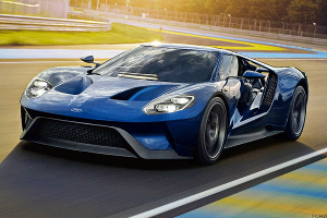 Check Out the Awesome New $400,000 Ford Supercar That Outgoing CEO Mark Fields Scored