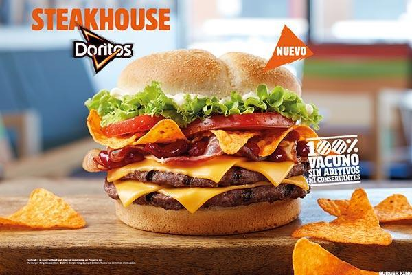 Zany Burger King Food Campaign Follows Whopperitos With Doritos