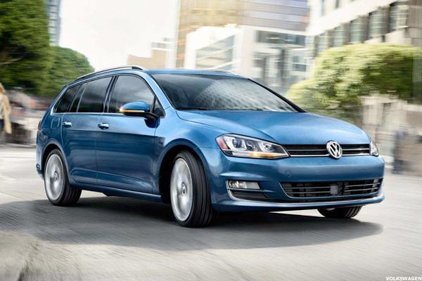 VW Leads European Automakers Lower Following EC Emissions Action