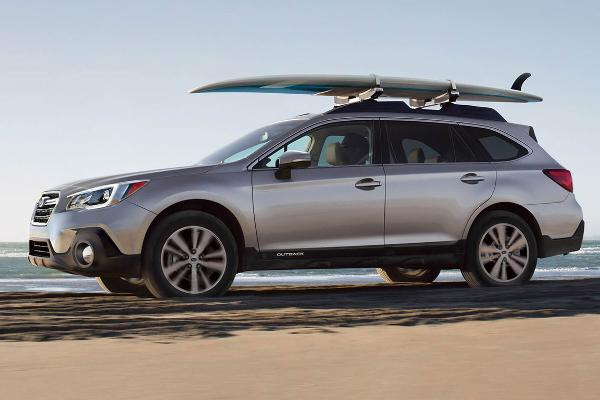 All-wheel drive cars: Subaru Outback