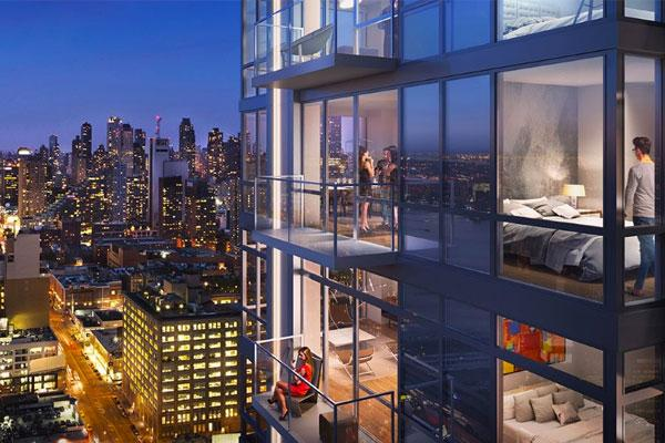 Here's a Look Inside New York City's Largest Rental Building