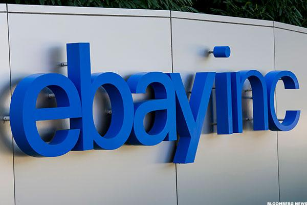 eBay Selling, Chinese Stocks Gain: Tech Winners and Losers