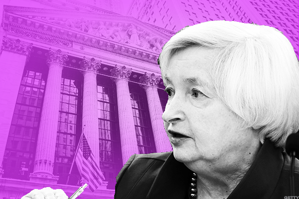Yellen Says a Sizable Rate Cut Would Halt Fed's Balance Sheet Reduction