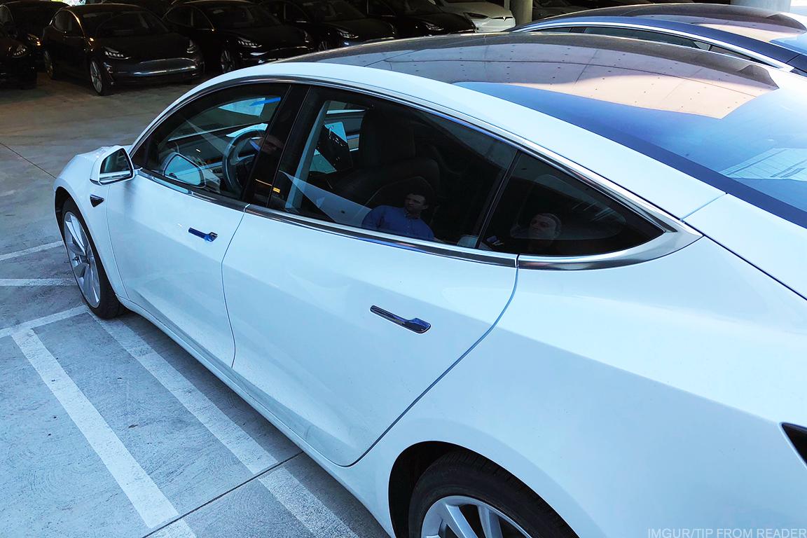 Tesla Model 3 Earns Top Crash-Safety Marks