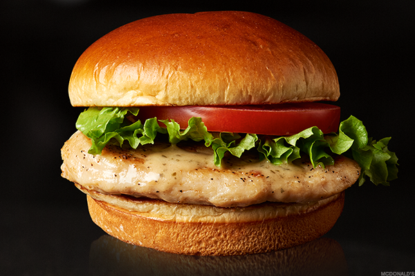 McDonald's Artisan Grilled Chicken