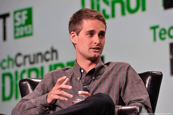 Here's How Snap CEO Evan Spiegel Handled His First Earnings Call
