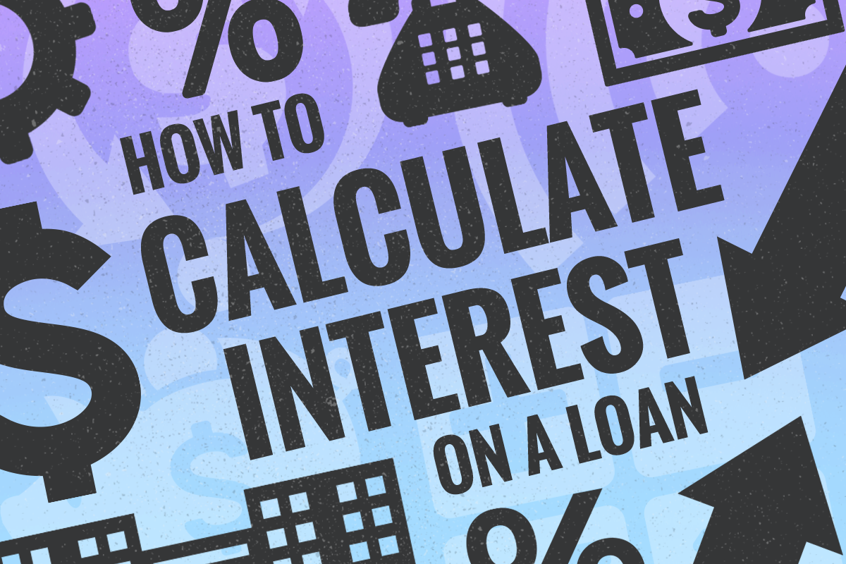 how to calculate interest on a loan  amortized  credit cards and more