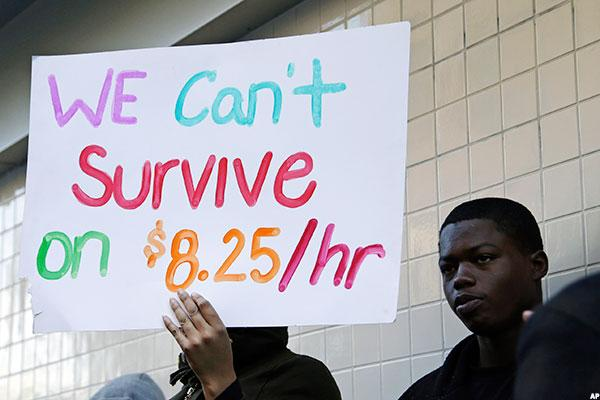 the positive and negative effects of an increased minimum wage in america The minimum wage has a positive and negative effect on the workforce worker image by catabu from fotoliacom.