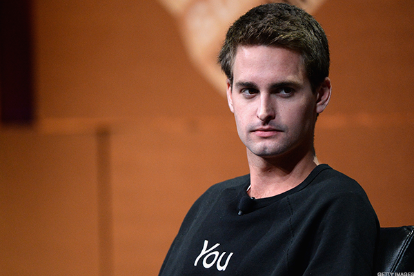 Snapchat CEO Evan Spiegel has experienced another tough quarter as a public company.
