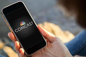 Comcast Shares Surge as Company Bucks Cable TV's Downward Trend
